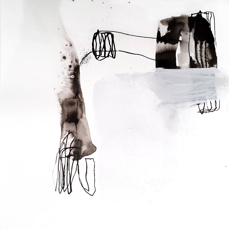 INK drawing, Helena Halvarsson, Not square 6