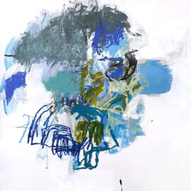 Blue, Mix media, Helena Halvarsson