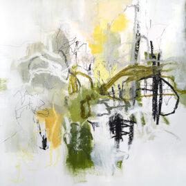 Green, Mix media, Helena Halvarsson