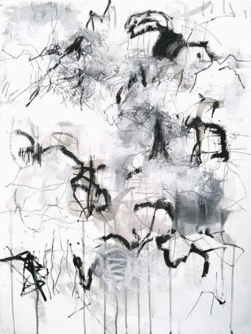 Grey 1, Mix media, Helena Halvarsson
