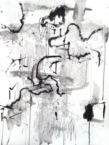Grey 2, mix media, Helena Halvarsson